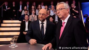 Οι επικρατέστεροι για την προεδρία της Κομισιόν Μάρτιν Σουλτς και Ζαν-Κλοντ Γιούνκερ