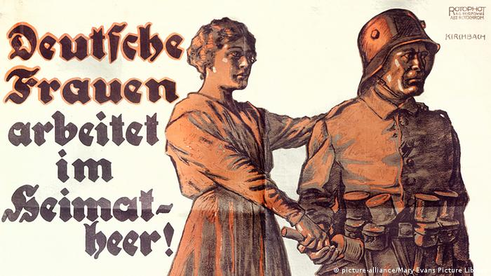 Deutschland Geschichte Erster Weltkrieg Propaganda Plakat