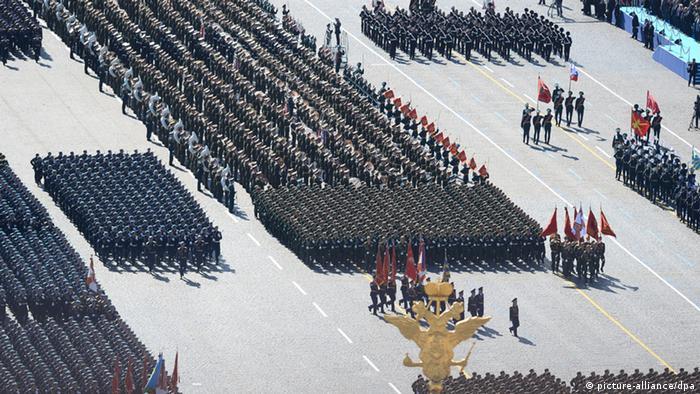 Парад Победы в Москве, 2014 год