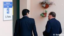 Silvio Berlusconi Sozialdienst Antritt 09.05.2014