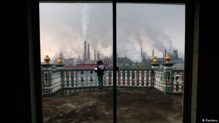 China Umweltverschmitzung 03.05.2014