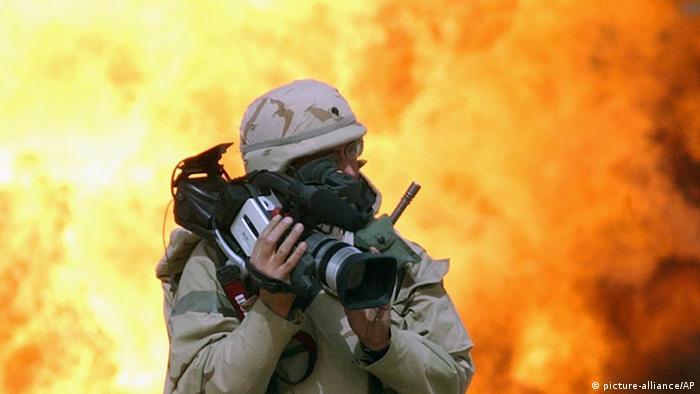 Журналист в Ираке