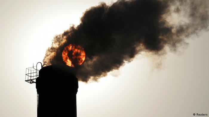 Air pollution in China (Photo: Reuters).