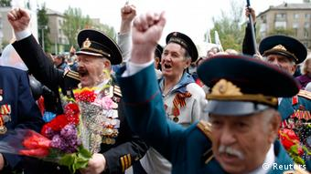 Siegesparade in Donezk 09.05.2014