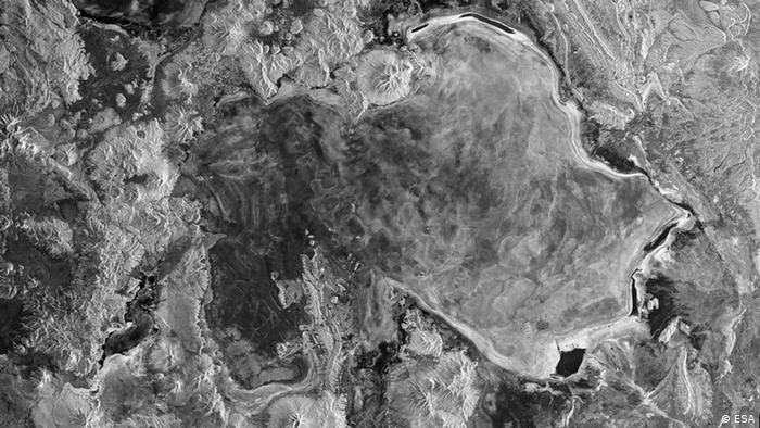 Radar-Aufnahme des Salar de Uyuni in Bolivien von Sentinel-1A