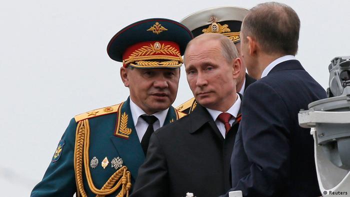 Putin Siegesfeier in Sewastopol 09.05.2014