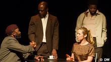 Szene von Theaterstück Utopie Generation 8.5.2014, Lissabon Copyright: DW via Maria da Costa Pinto, DW Portugiesisch