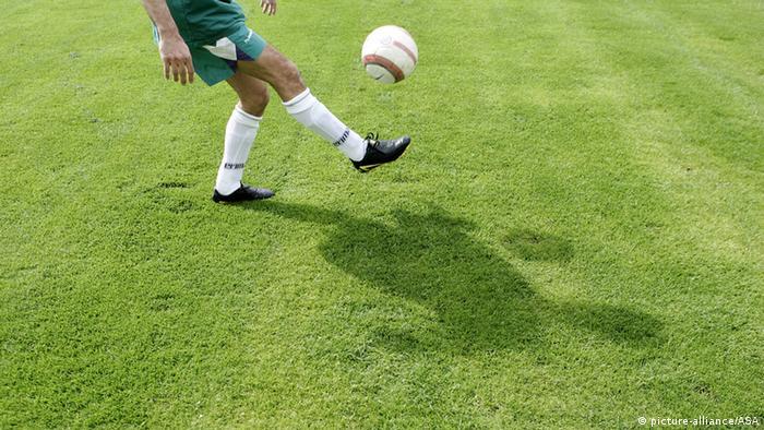 Symbolbild Fußballer. Foto: dpa-pa
