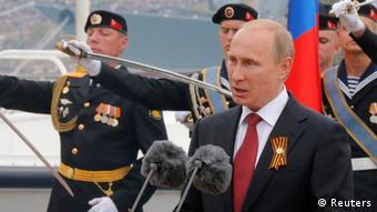 Putin Rede Siegesfeier in Sewastopol 09.05.2014