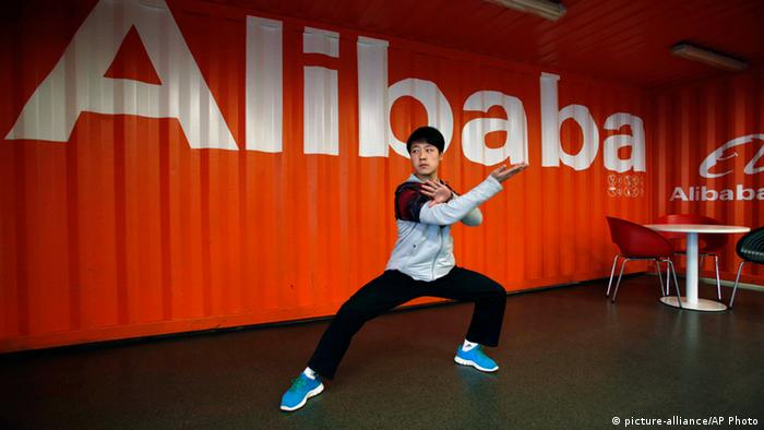 Alibaba Group Online Handelsriese China