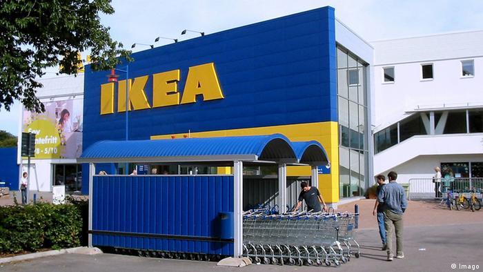 IKEA-Möbelhaus in Älmhult - Schweden