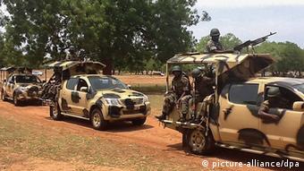 Nigeria Soldaten Militär Boko Haram