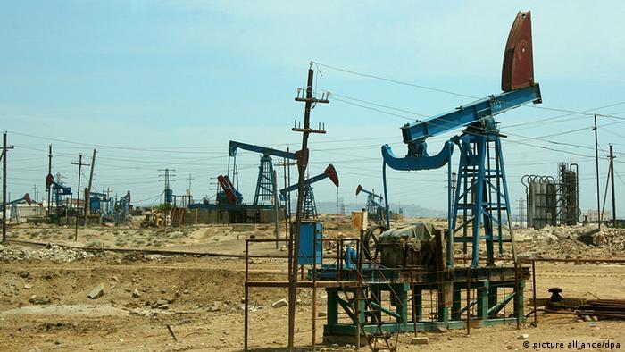 Нефтегазовое месторождение в Азербайджане