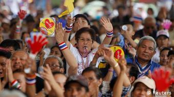 Bangkok Protest Anti Regierung 10.5.