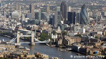 世界上富豪最多的城市-英国伦敦