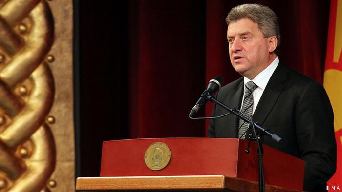 Mazedonien - Präsident Gorge Ivanov