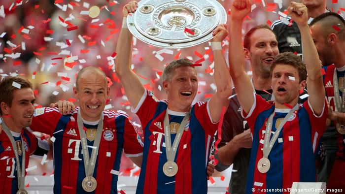 Bundesliga München Meister (Hassenstein/Bongarts/Getty Images)