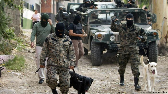 Honduranische Armee bekämpft Rauschgifthandel