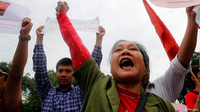 Vietnam Demonstration Anti China Protest 11.5.14