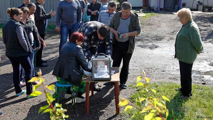 Ost Ukraine Referendum 11.5.