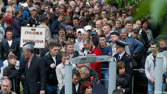 Ost Ukraine Referendum 11.5.2014