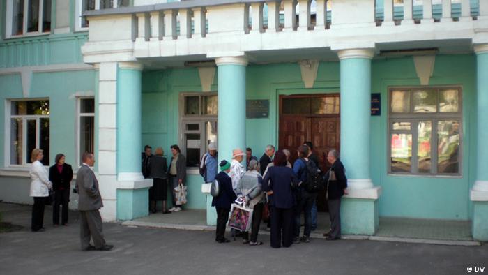 Референдум в одній зі шкіл Донецька