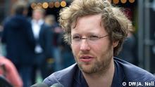 Jan Philipp Albrecht, Porträt. Copyright: DW/A. Noll
