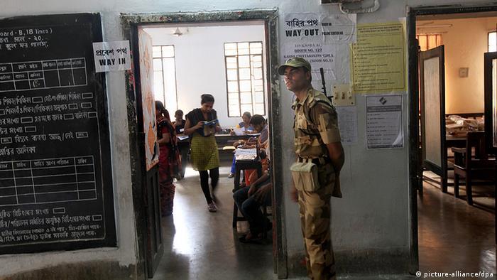 Indien Wahl 2014 Parlamentswahlen Kalkutta (picture-alliance/dpa)
