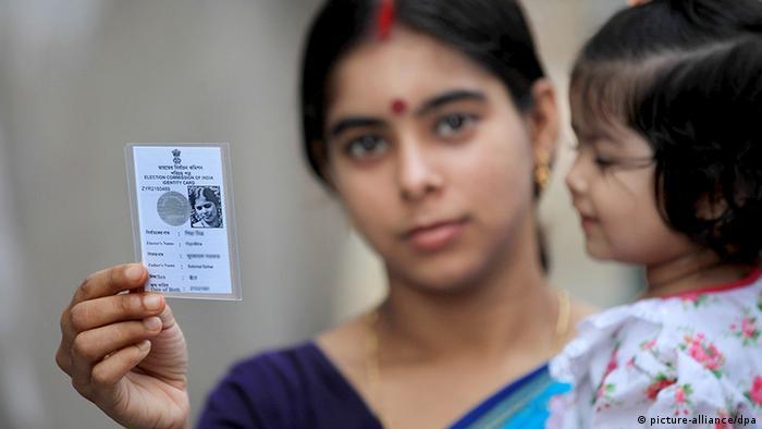 Indien Wahl 2014 Parlamentswahlen Kalkutta