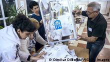 Ukraine Referendum Luhansk Auszählung 11.05.2014