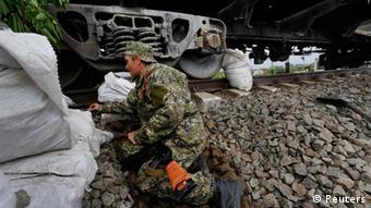 Ostukraine Krise Slowjansk 12.05.2014