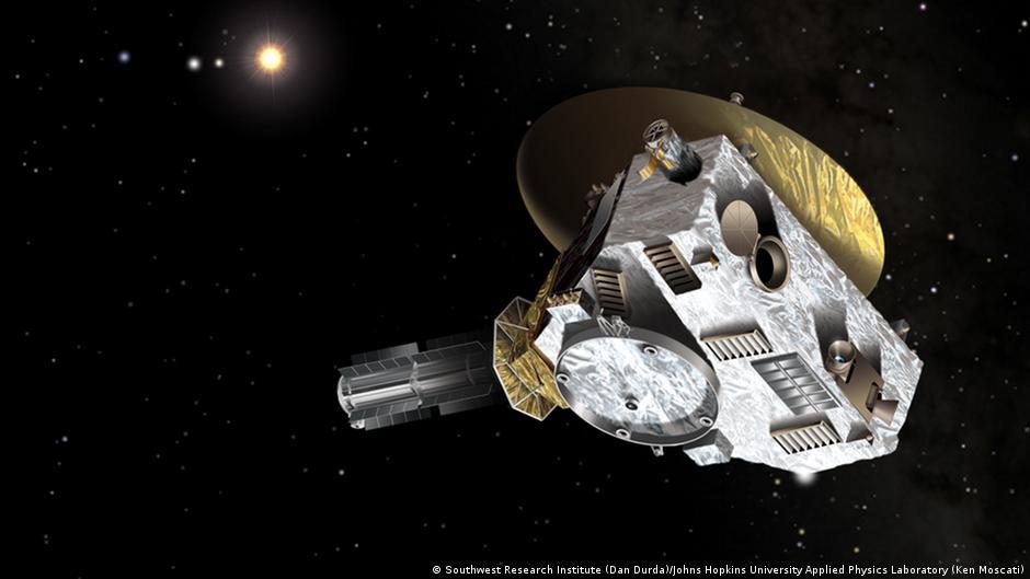 space probe to pluto - 1100×729