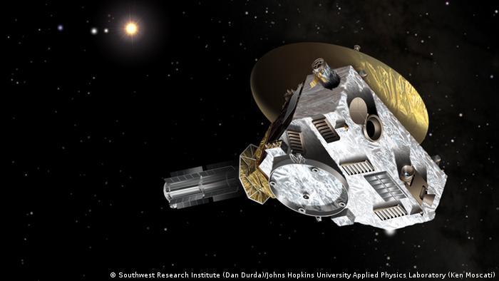 zum Thema - New Horizons - Kuipergürtel - NASA