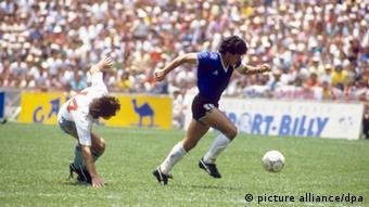 Diego Maradona ehemaliger Fußballspieler Argentinien