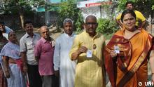 Indien Wahl 2014 Parlamentswahlen Varanasi