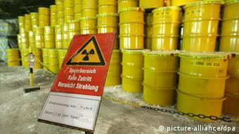 Atommüll Fässer in Morsleben Archiv 2009 (picture-alliance/dpa)