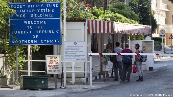 Grenze Nordzypern Zypern