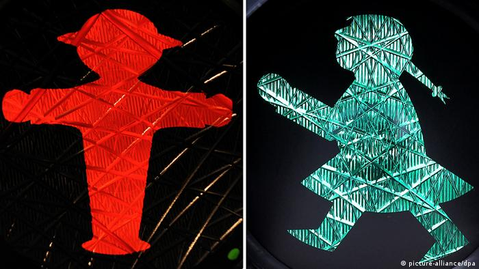 Ampelmann and Ampelfrau