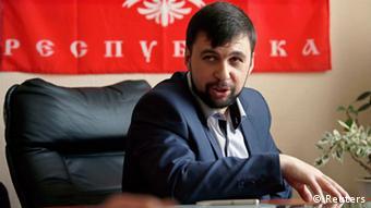 Ukraine Donezk Separatistenführer Denis Puschilin