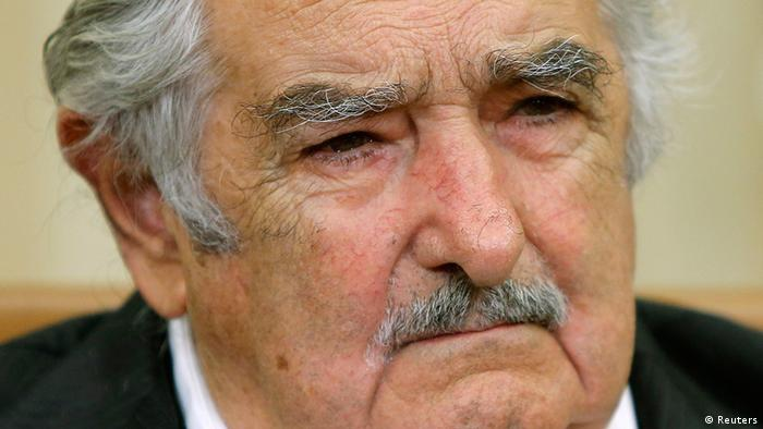 Porträt von Uruguays Präsidenten José Mujica (Foto: Reuters)