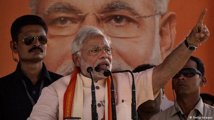 India Narendra Modi 08.05.2014