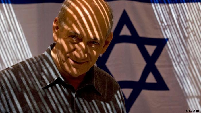 Israel Korruption Ehud Olmert ARCHIV (Reuters)