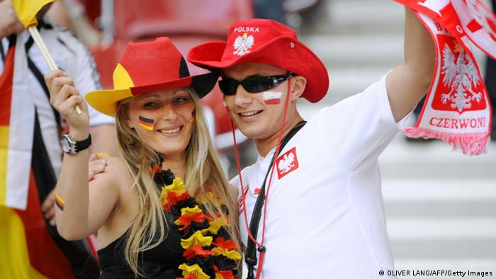 Fußball Deutschland vs Polen EM 2008 Fans (OLIVER LANG/AFP/Getty Images)