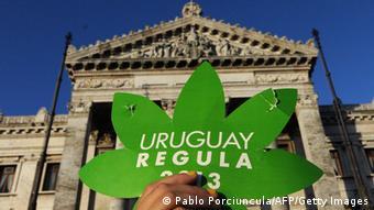 Demonstration für die Legalisierung von Marihuana (Foto: AFP)