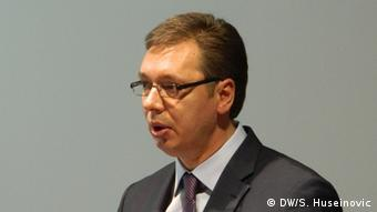 Vucic in Sarajewo 13.05.2014