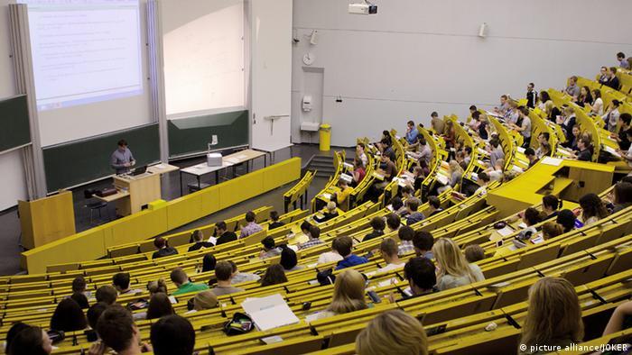 Лекционный зал Бохумского университета