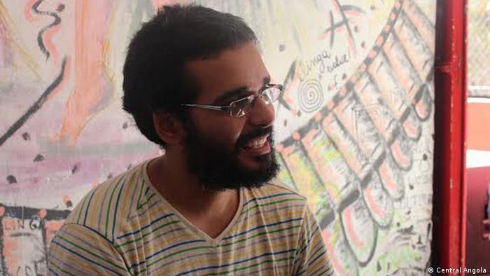 Luaty Beirão, ativista e músico angolano