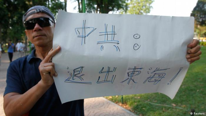 Anti-China-Protesteste in Vietnam