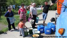 Krim Wasserknappheit Stadt Stari Krim 13.05.2014