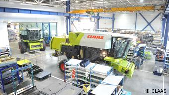 Claas factory in Krasnodar, Russia